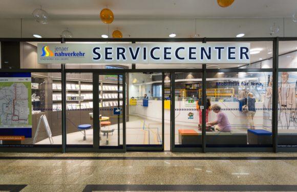 Das Service-Center des Jenaer Nahverkehrs ist wieder für Sie da