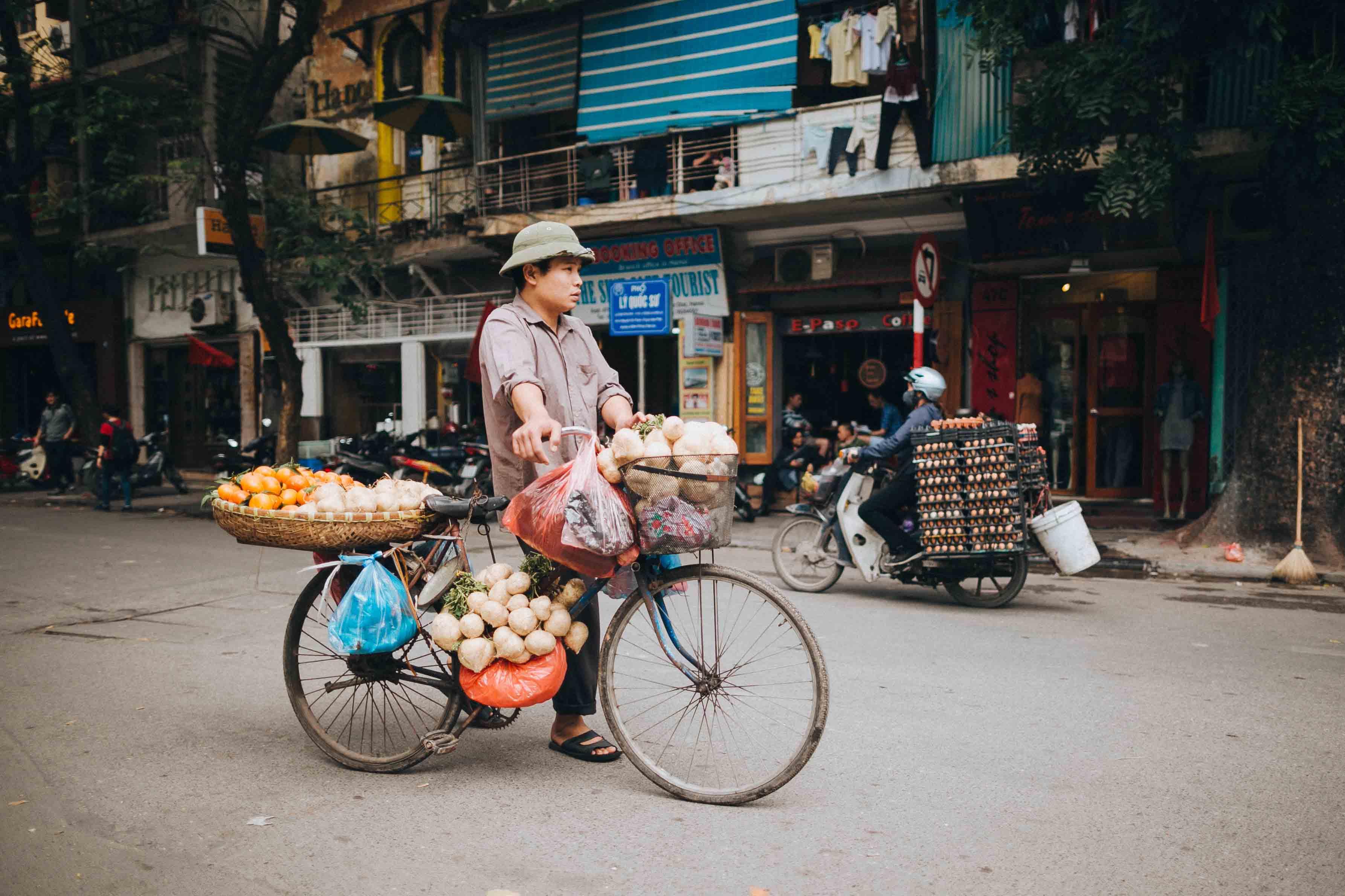 Im Winter geht's nach Hanoi